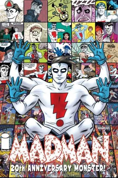 Madman Monster cover art.
