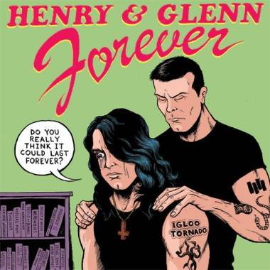 Henry and Glenn Forever comic book art