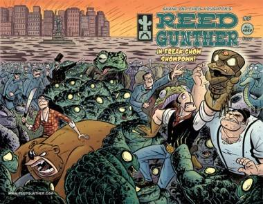 Reed Gunther comic book cover