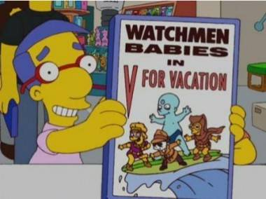 Watchmen on The Simpsons