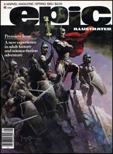 Epic Illustrated issue number one cover image