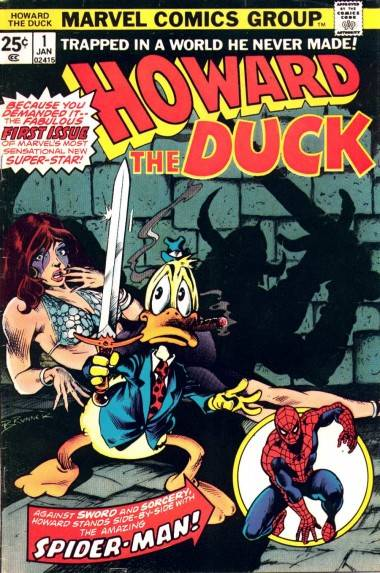 Howard the Duck issue one cover