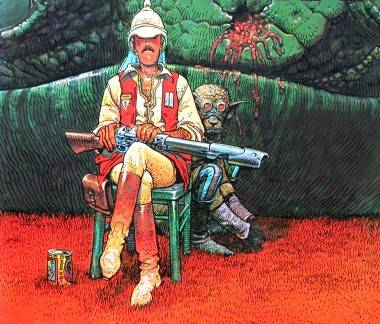 Art by Jean Giraud aka Moebius