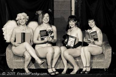 Naked Girls Reading Vancouver 2011 photo
