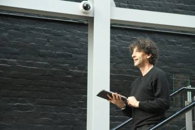 Neil Gaiman photo Vancouver