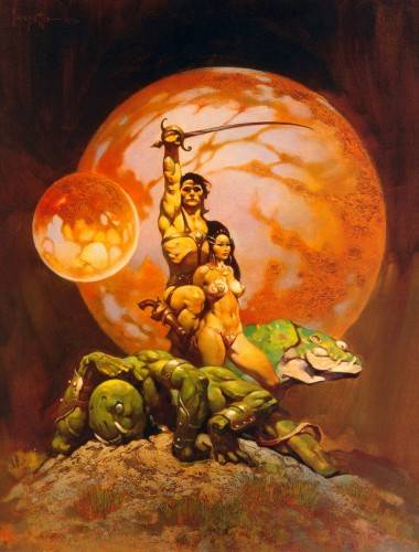 John Carter by Frank Frazetta