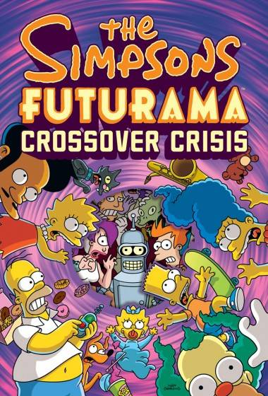 Simpsons Futurama Crossover collection cover