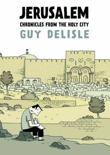 Jerusalem by Guy Delisle book cover