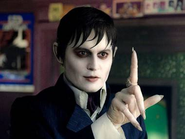 Johnny Depp as Barnabas Collins in Dark Shadows (2012) movie image