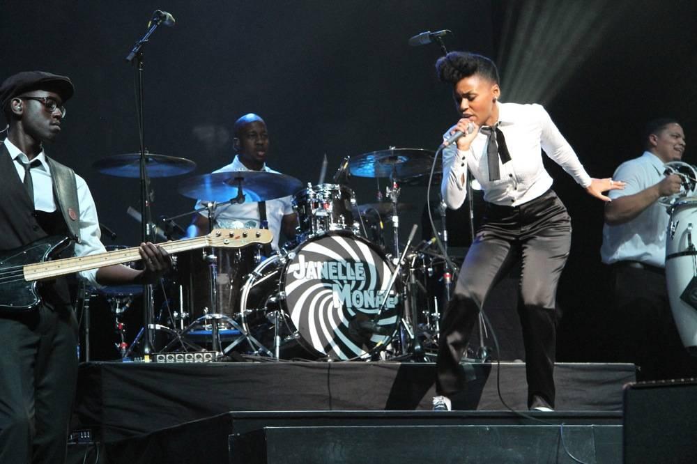 Janelle Monae concert photo