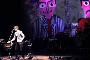 Gotye in Vancouver concert photo