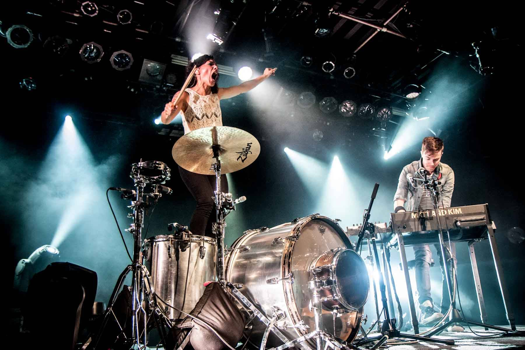 Matt and Kim at The Commodore Ballroom, Vancouver, Oct 28 2012. Christine Redmond photo.