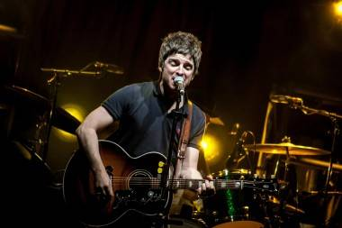 Noel Gallagher concert photo