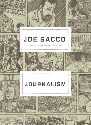 Joe Sacco Journalism book cover