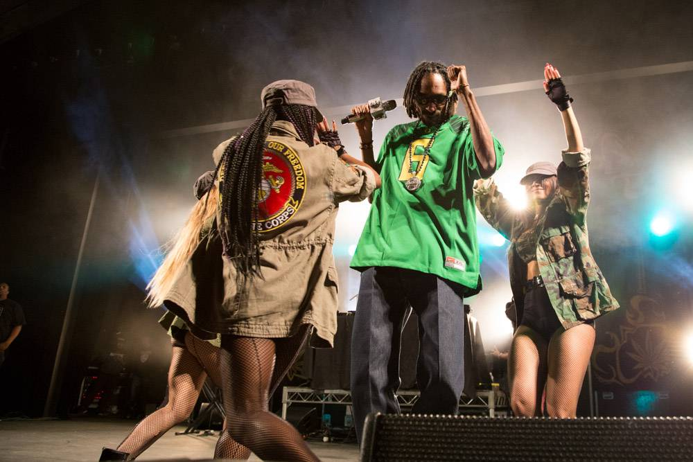 Photo - Snoop Dogg at Malkin Bowl Aug 28 2013 by Kirk Chantraine