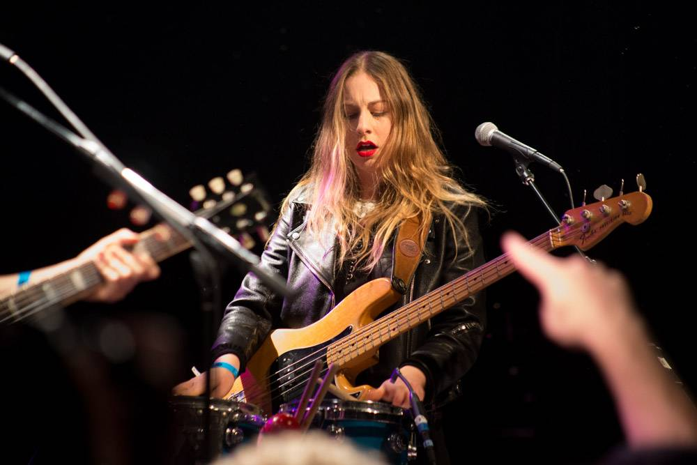 Este Haim with Haim at the Commodore Ballroom