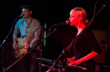 The Rosebuds at the Media Club, Vancouver, Aug 21 2014. Kirk Chantraine photo.