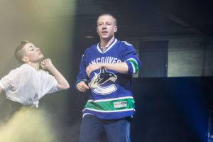 Macklemore and Ryan Lewis at the PNE, Vancouver. Pavel Boiko photo.
