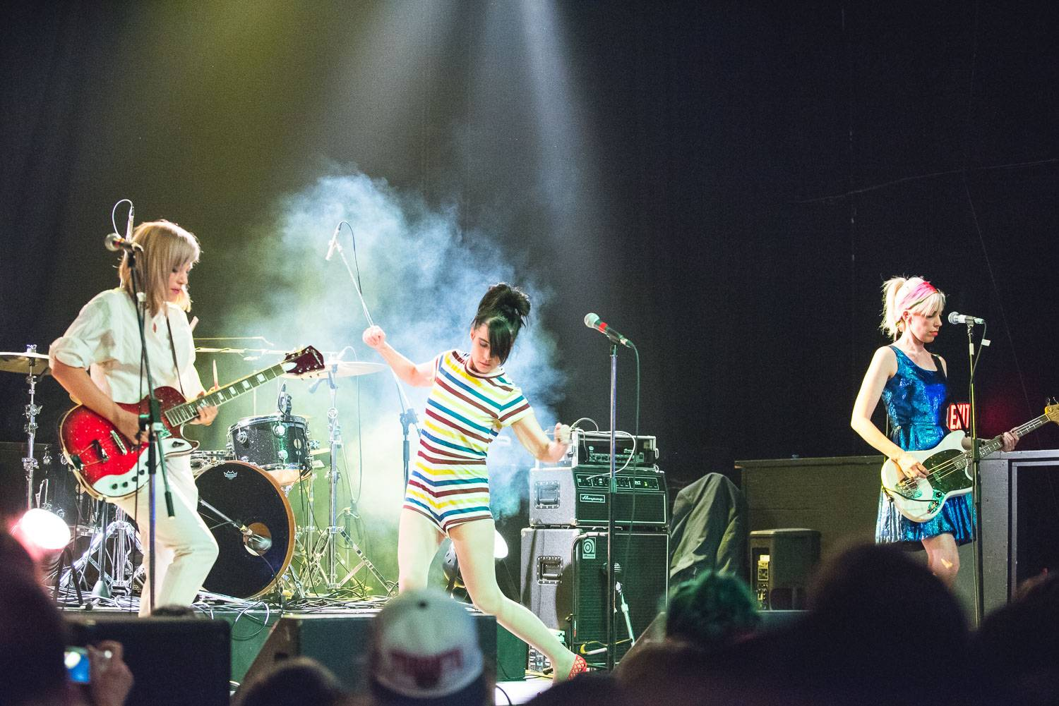 Julie Ruin at the Rickshaw Theatre, Vancouver, Oct. 7 2016. Pavel Boiko photo.