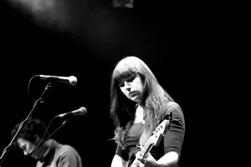 Louise Burns at Venue, Vancouver, April 29 2011.