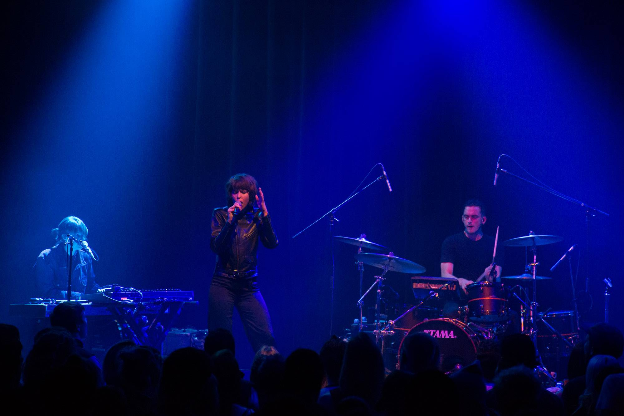 The Jezabels at the Imperial, Vancouver, Nov. 13 2016. Kirk Chantraine photo.