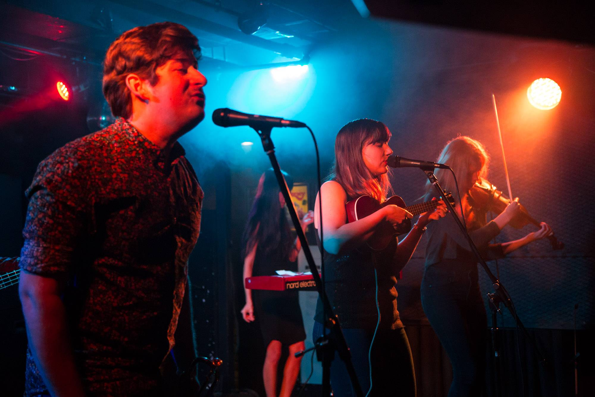 The Ruffled Feathers at the Biltmore Cabaret, Vancouver, Dec. 1 2016. Kirk Chantraine photo.