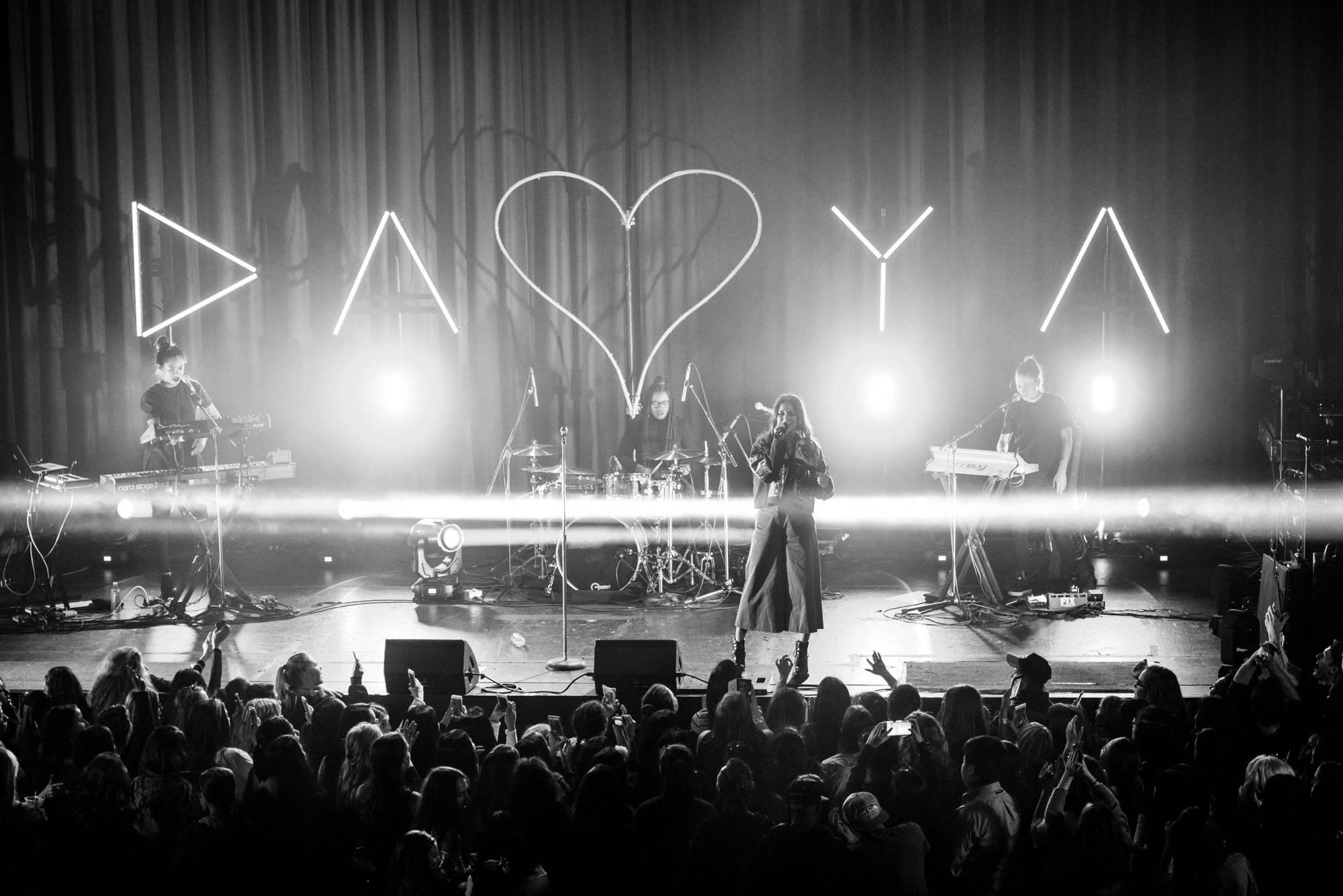 Daya at the Rio Theatre, Vancouver, Mar. 17 2017. Jason Martin photo.