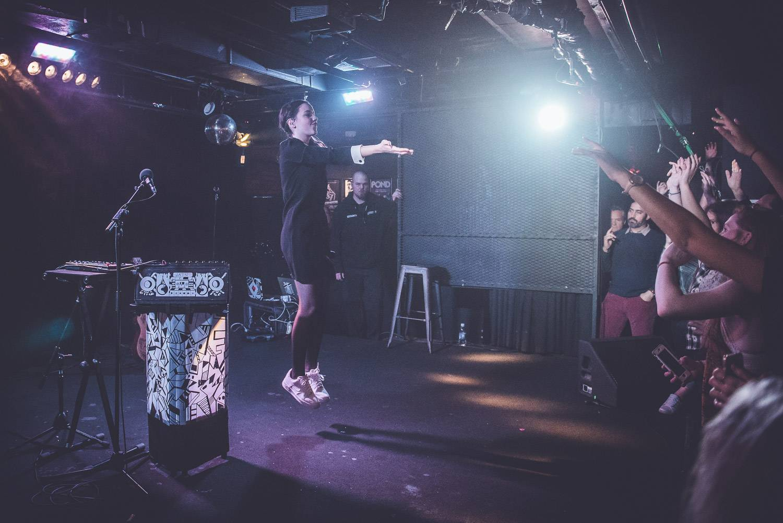 Jain at the Biltmore Cabaret, Vancouver, Mar. 27 2017. Pavel Boiko photo.