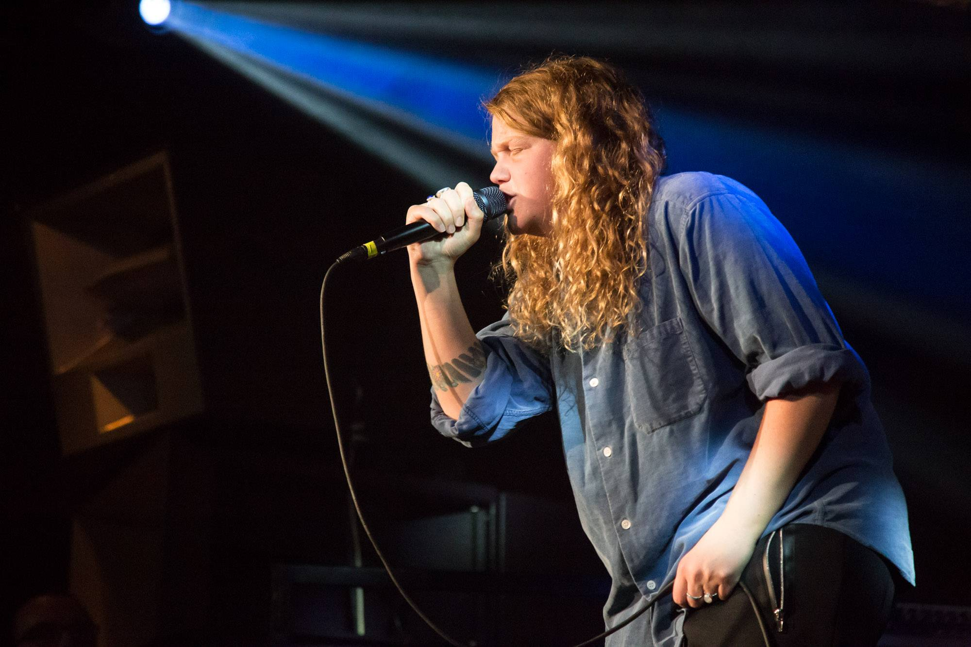 Kate Tempest at Fortune Sound Club, Vancouver, Mar. 29 2017. Kirk Chantraine photo.