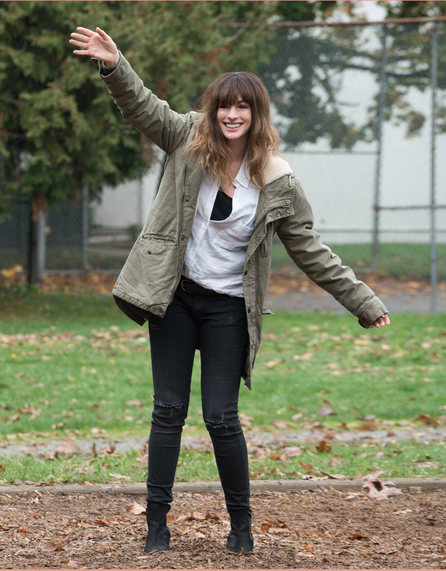Anne Hathaway in Colossal (2017).