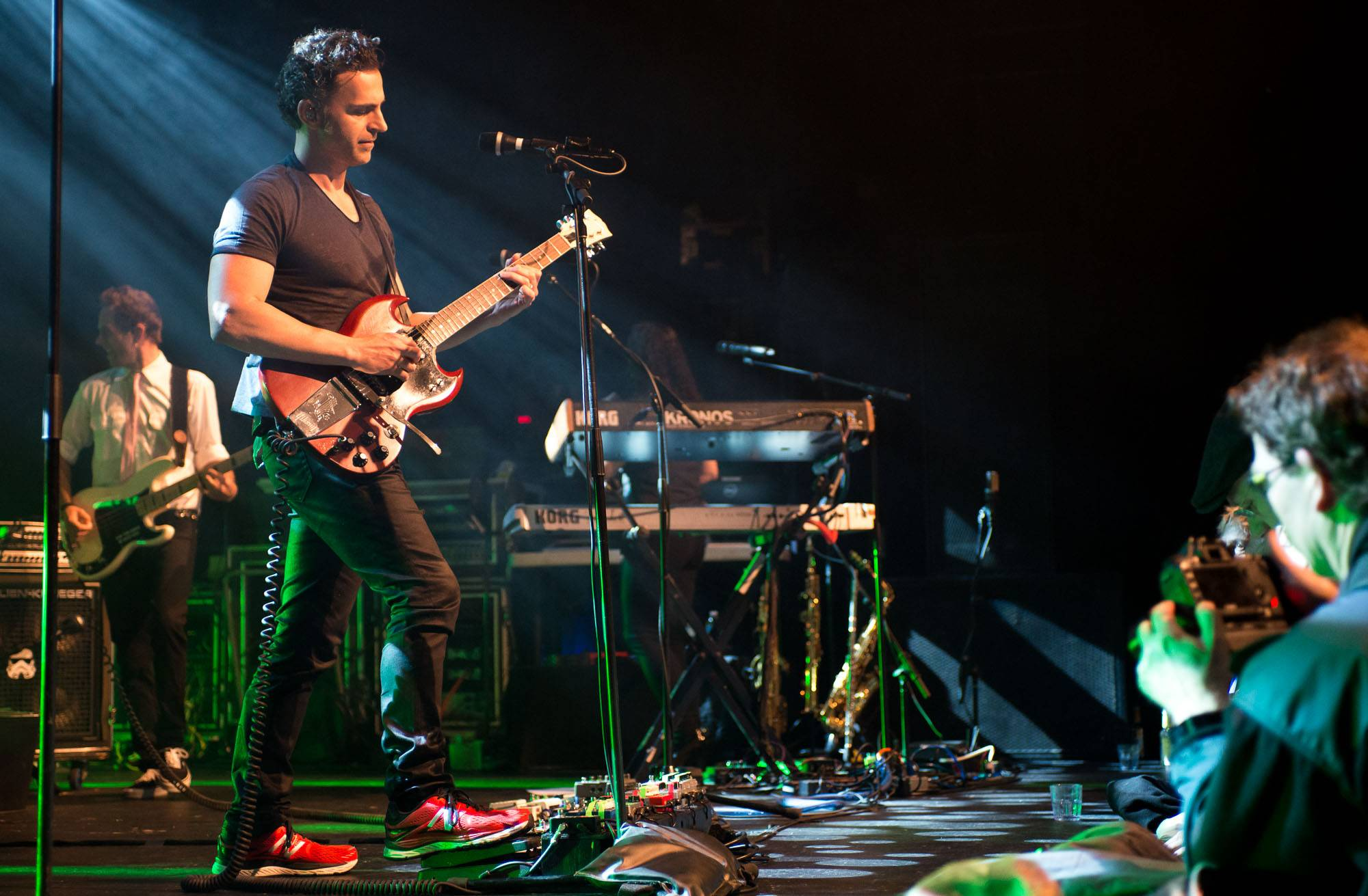 Dweezil Zappa at the Commodore Ballroom, Vancouver, Apr. 25 2017. Jessica Vandergulik photo.