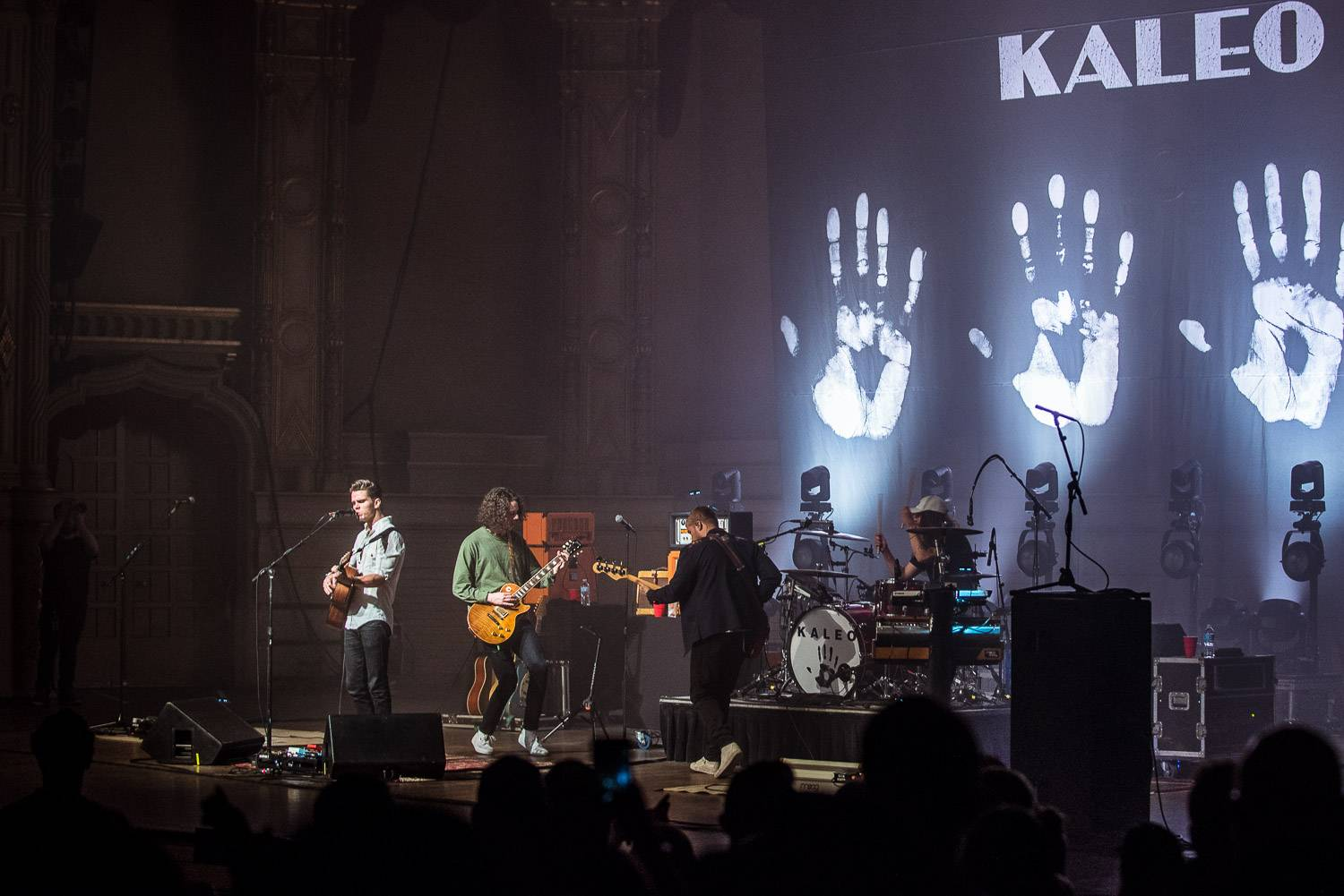 Kaleo at the Orpheum Theater, Vancouver, Apr. 4 2017. Pavel Boiko photo.