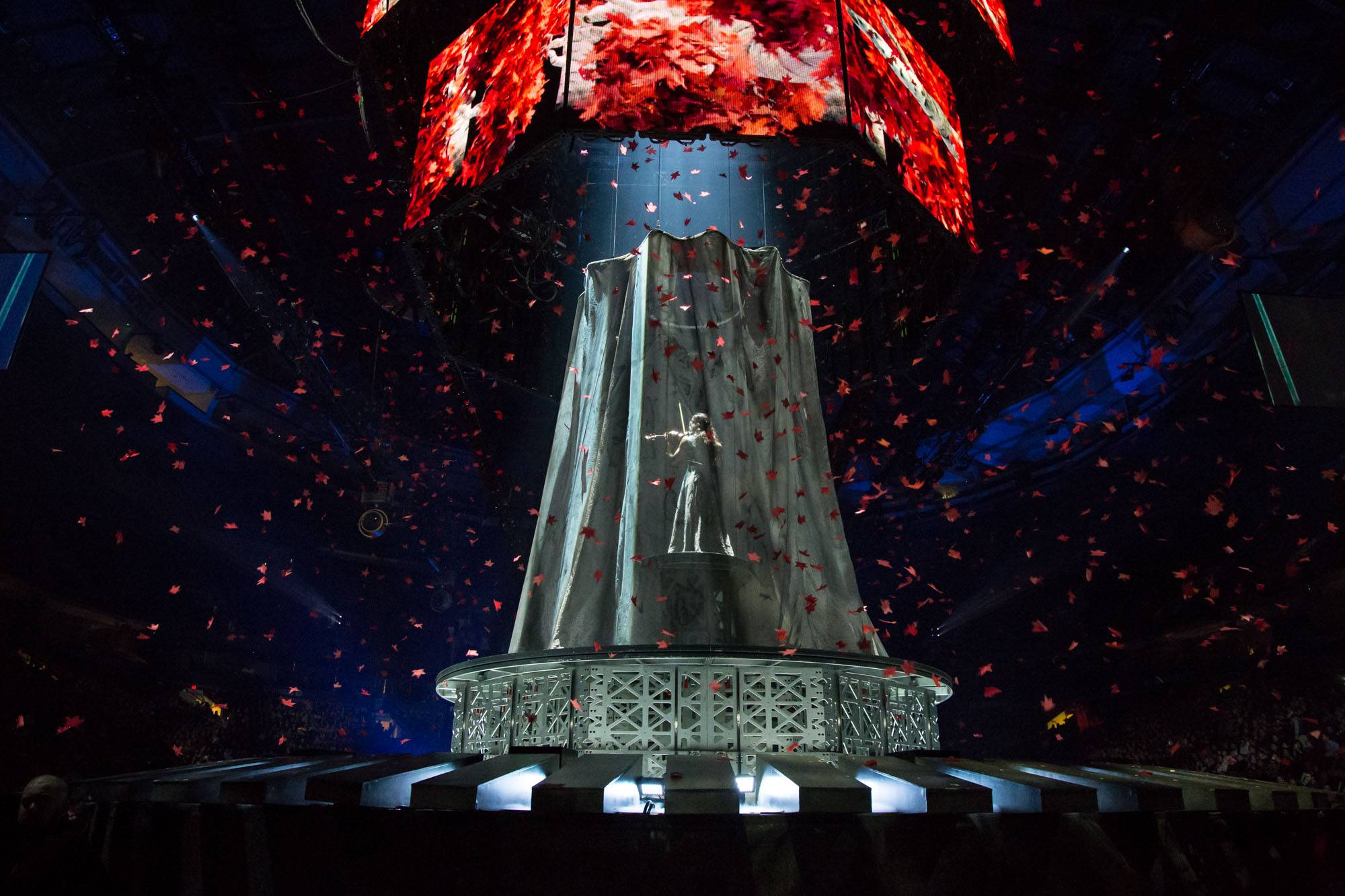 Game of Thrones Live Concert Experience at Rogers Arena, Vancouver, Apr. 1 2017. Kirk Chantraine photo.