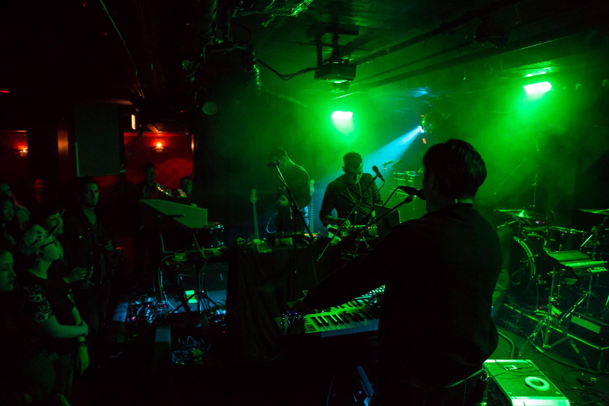 Low Roar at the Biltmore Cabaret, Vancouver, Apr. 20 2017. Kirk Chantraine photo.