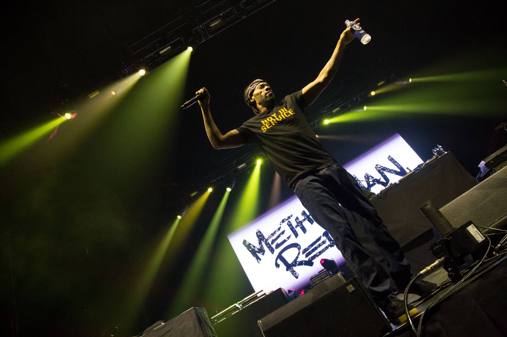 Redman and Streetlife at Rogers Arena, Vancouver, Apr. 14 2017. Kirk Chantraine photo.
