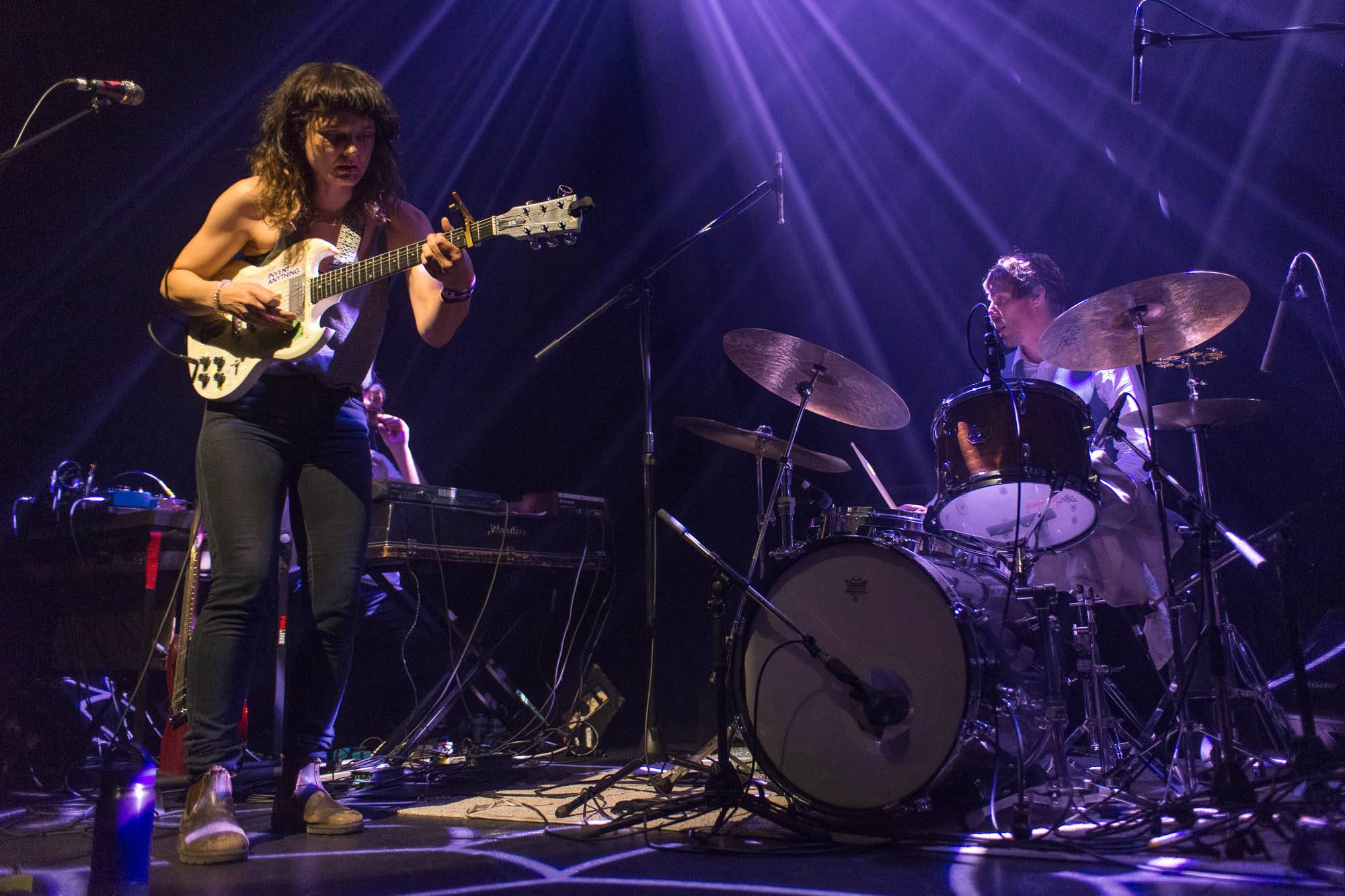 Land of Talk at the Imperial Theatre, Vancouver, June 26 2017. Jessica Vandergulik photo.
