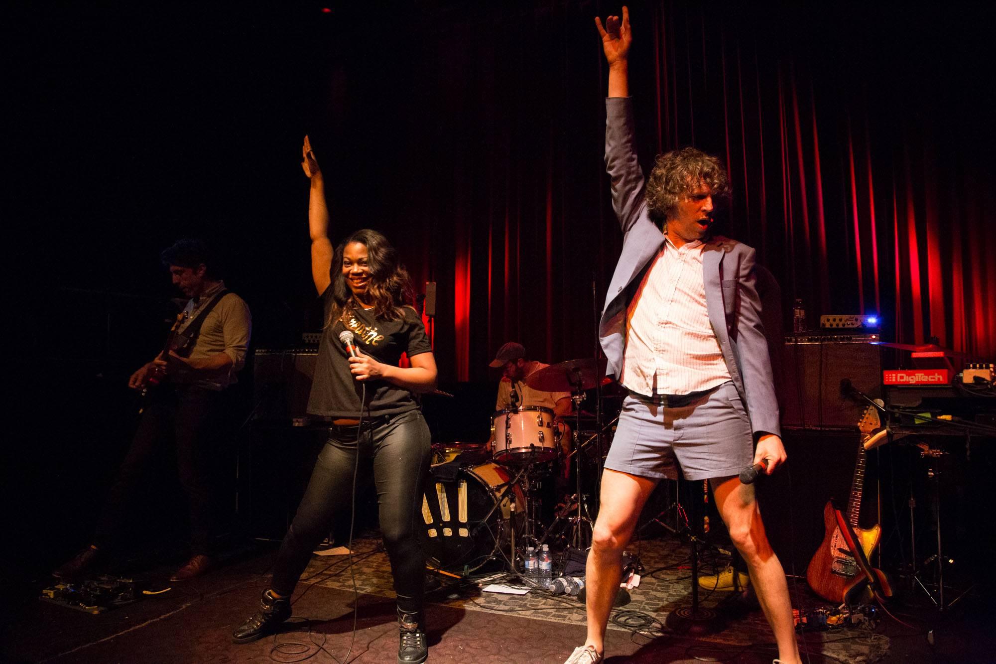 !!! (Chk Chk Chk) at the Fox Cabaret, Vancouver, June 27 2017. Kirk Chantraine photo.