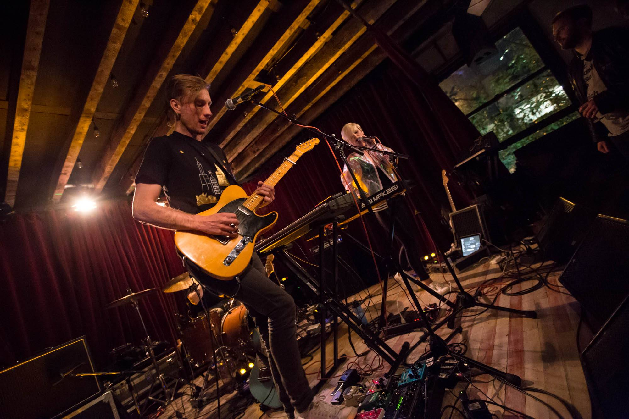 Rococode at the Railway Club, Vancouver, Jun. 10 2017. Kirk Chantraine photo.
