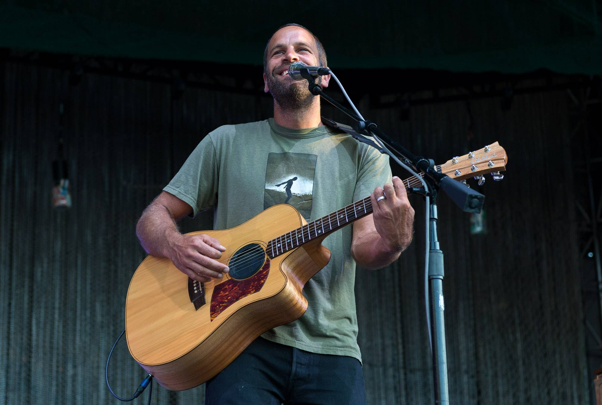 Jack Johnson at Deer Lake Park, Burnaby, July 23 2017. Jessica Vandergulik photo.