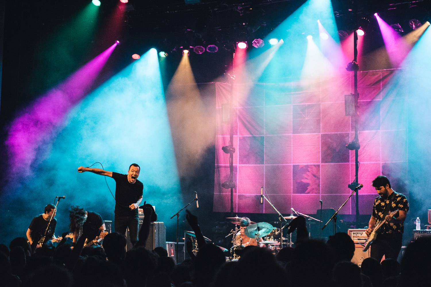 Touche Amore at the Vogue Theatre, Vancouver, Sept 15 2017. Pavel Boiko photo.