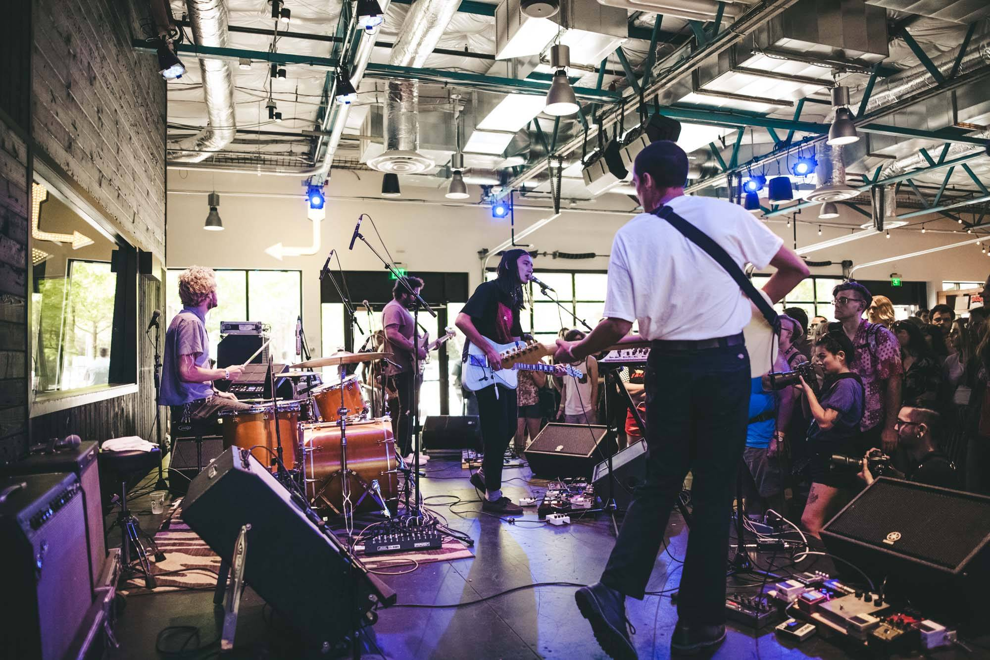 Froth at Bumbershoot 2017, Seattle, Sept 3 2017. Kelli Anne photo.