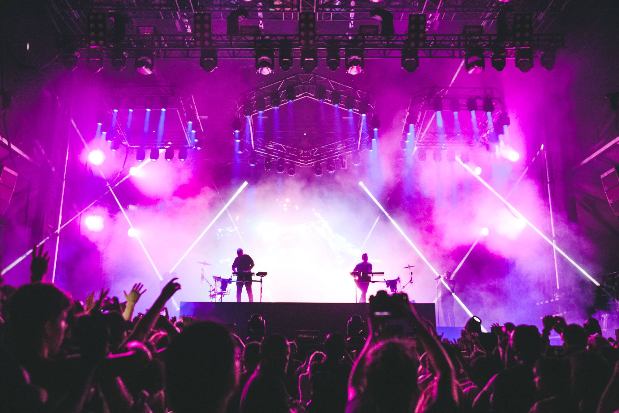 Odesza at Bumbershoot 2017, Seattle, Sept 3 2017. Kelli Anne photo.