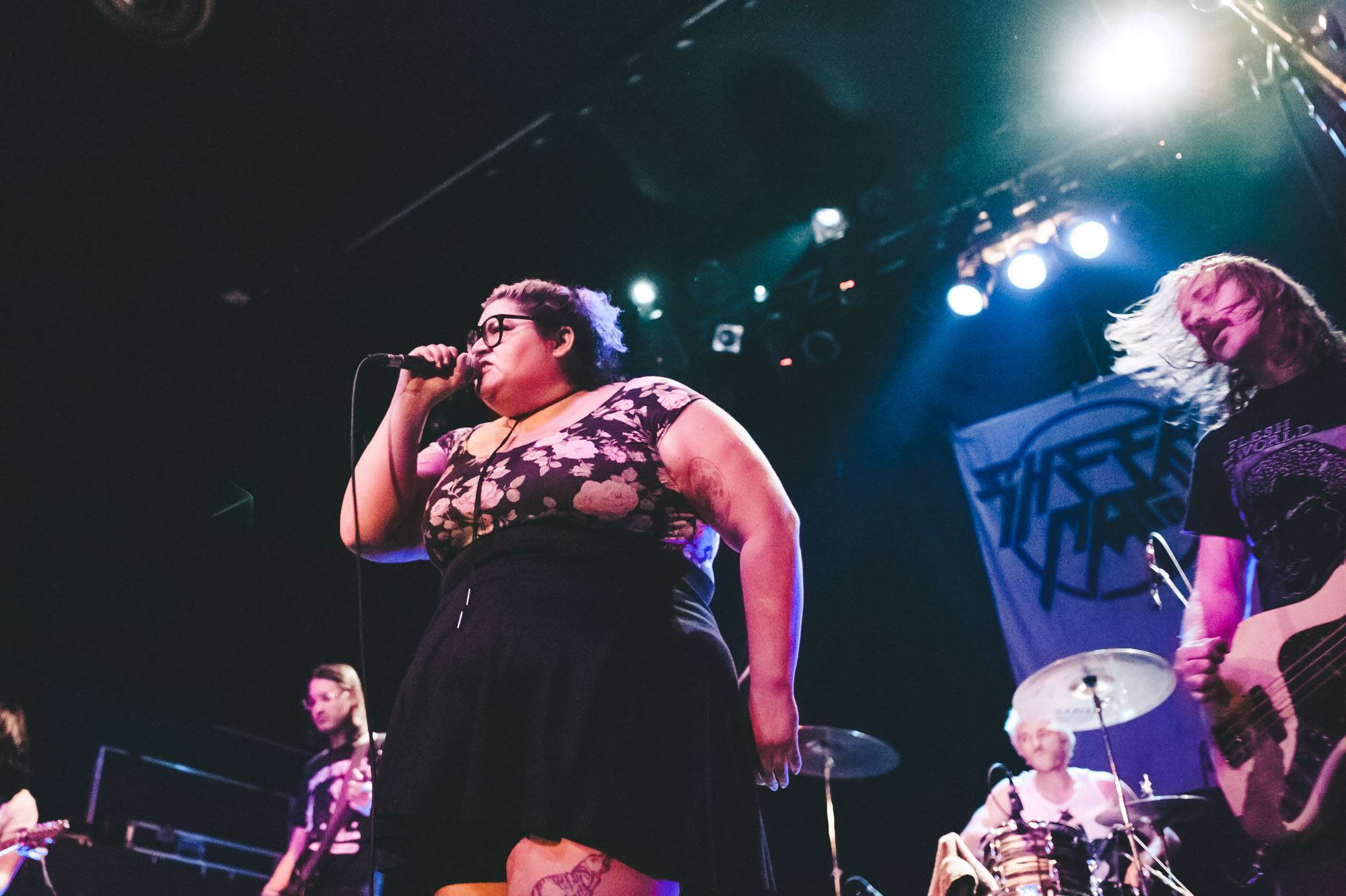 Sheer Mag at the Rickshaw Theatre, Vancouver, Sept 25 2017. Kelli Anne photo.