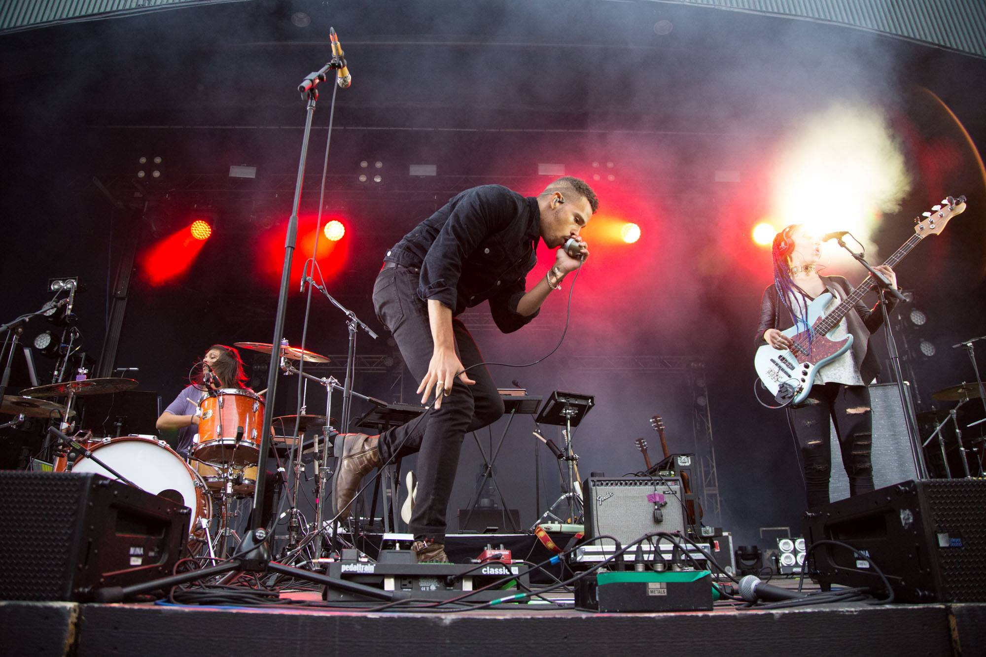 NoMBe at the Malkin Bowl, Vancouver, Sept 15 2017. Kirk Chantraine photo.