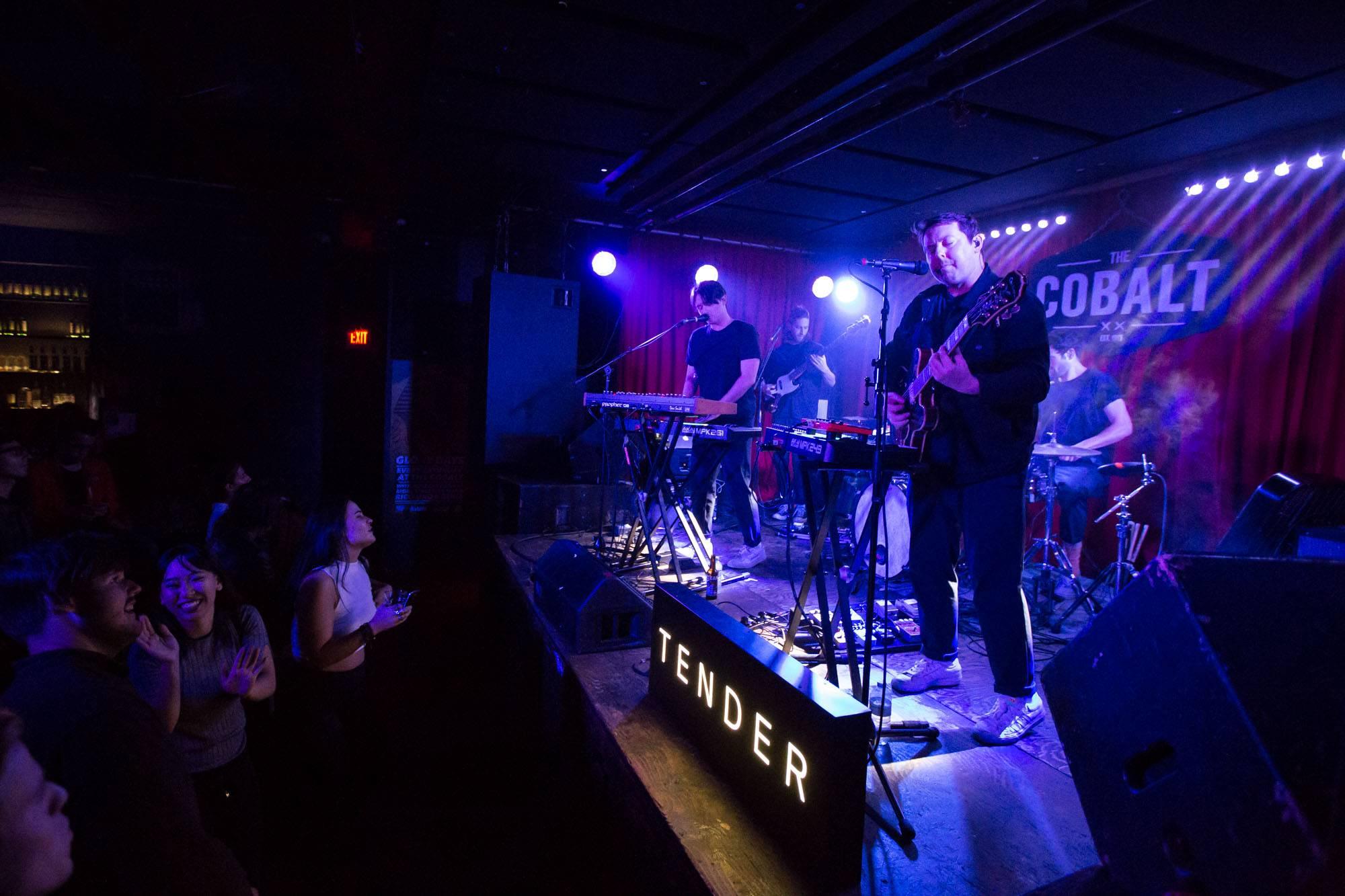 Tender at the Cobalt Cabaret, Vancouver, Sept 17 2017. Kirk Chantraine photo.