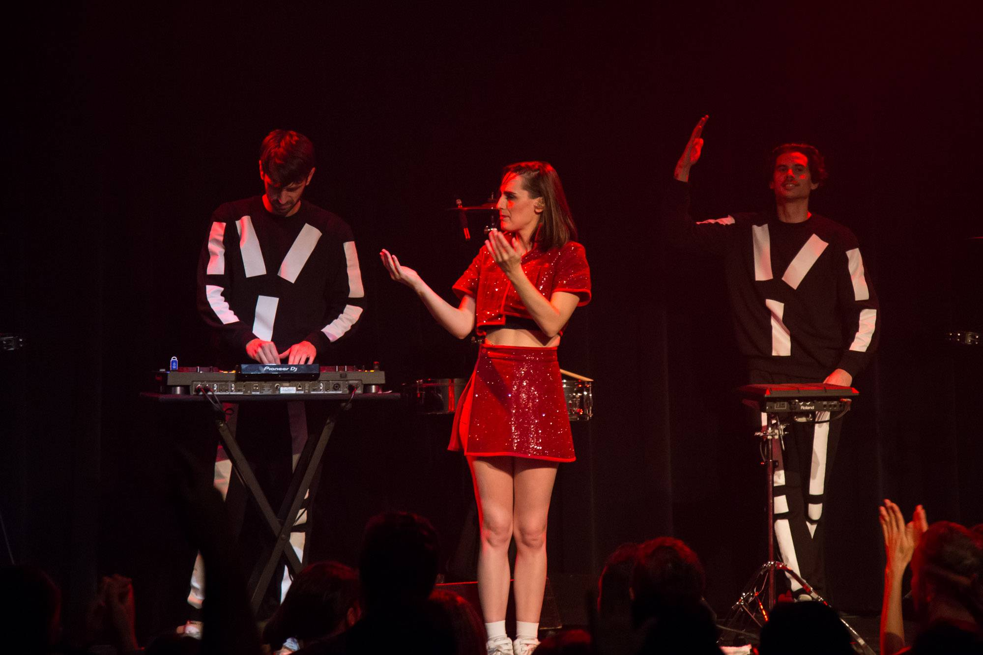 Yelle at Imperial, Vancouver, Oct 23 2017. Kirk Chantraine photo.