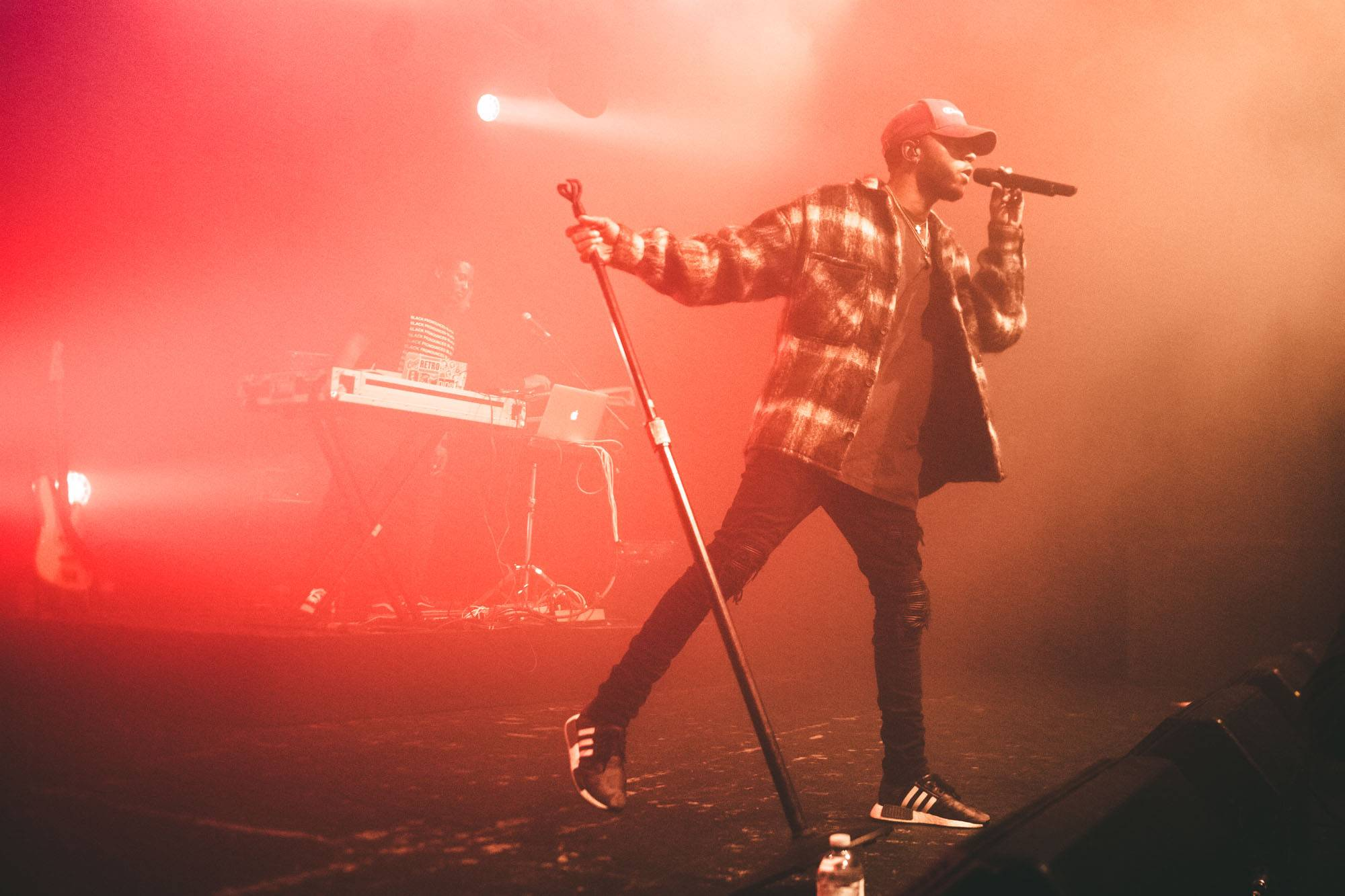 6lack at the Commodore Ballroom, Vancouver, Nov 3 2017. Kelli Anne photo.