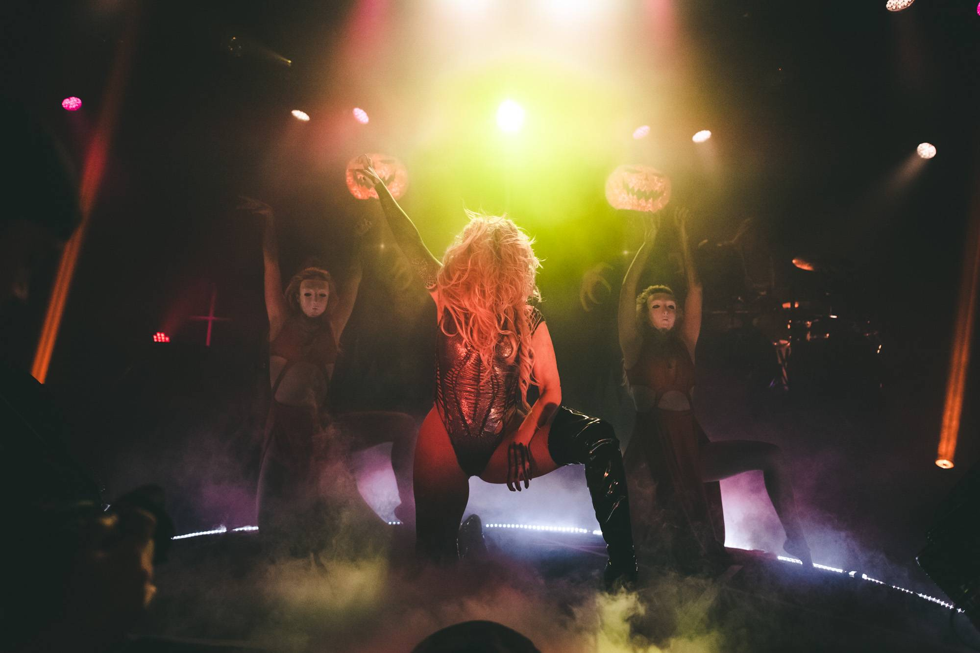 In This Moment at the Commodore Ballroom, Vancouver, Nov 2 2017. Kelli Anne photo.