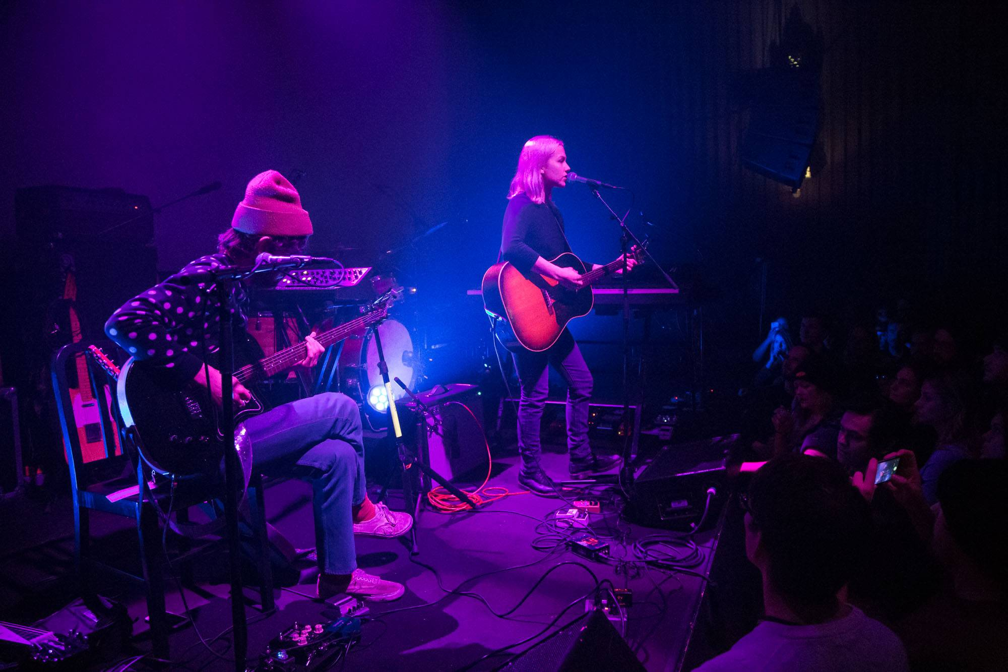 Phoebe Bridgers at the Imperial Vancouver, Nov 12 2017. Kirk Chantraine photo.