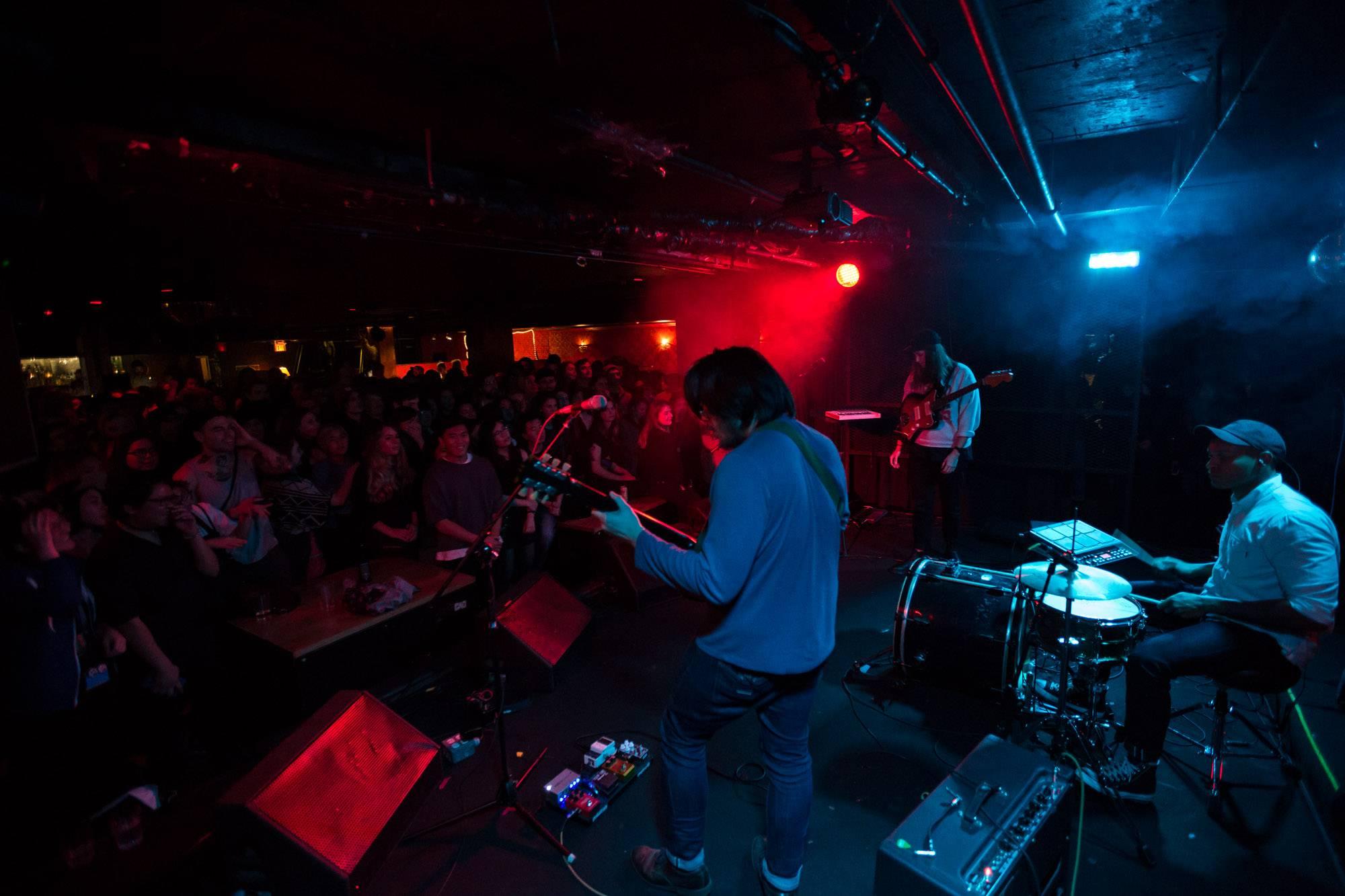 SALES at the Biltmore Cabaret, Vancouver, Dec 1 2017. Kirk Chantraine photo.